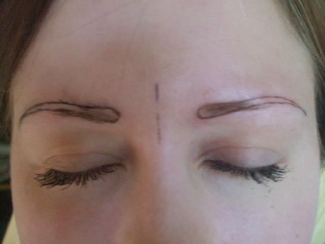 Волоски татуаж